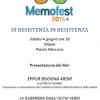"""""""Di Resistenza in Resistenza"""" Giorgio Pagano e Marco Rovelli al Memofest di Massa, Sabato 4 Giugno ore 18 piazza Mercurio"""
