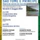"""Giorgio Pagano presenta il libro e la mostra fotografica """"Sao Tomé e Principe – Diario do centro do mundo"""" – Venerdì 4 maggio alle ore 17 a Follo"""