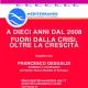 """""""A dieci anni dal 2008. Fuori dalla crisi, oltre la crescita"""" – Incontro con Francesco Gesualdi, Mercoledì 28 Novembre ore 17 alla Mediateca Regionale Ligure"""