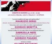 Legittima difesa e armi in Italia: per quale sicurezza? Sabato 8 giugno (ore 17.00-19.30) Centro Allende – La Spezia