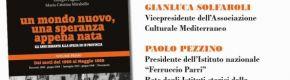 """Presentazione del primo volume di  """"UN MONDO NUOVO, UNA SPERANZA APPENA NATA. Gli anni Sessanta alla Spezia ed in provincia"""" """"DAI MOTI DEL 1960 AL MAGGIO 1968"""" di GIORGIO PAGANO e MARIA CRISTINA MIRABELLO – Lunedì 13 gennaio 2020 ore 17 Mediateca Regionale Ligure """"Sergio Fregoso"""""""