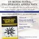 """Presentazione di """"Un mondo nuovo, una speranza appena nata"""" di Giorgio Pagano e Maria Cristina Mirabello. Domenica 19 Settembre ore 17 a Varese Ligure"""