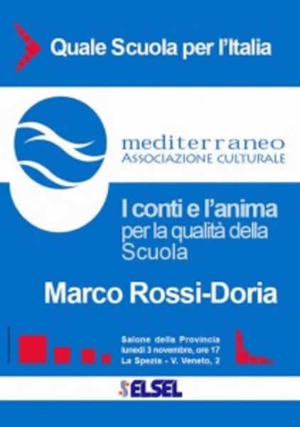 I conti e l'anima per la qualità della Scuola - Marco ROssi-Doria