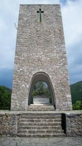 Sant'Anna di Stazzema, l'Ossario (2010) (foto Giorgio Pagano)