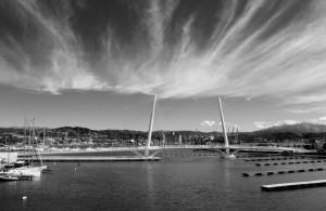 """""""La Spezia, il ponteThaon di Revel"""", mostra fotografica """"Il mare, la sua vita, il suo contesto"""", Lerici, Circolo della vela Erix, 19-28 settembre 2014 (2013) (foto Giorgio Pagano)"""