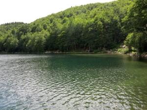 Lago Santo, veduta dal rifugio Mariotti (2014) (foto Giorgio Pagano)