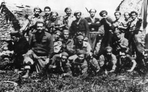 """Il """"Battaglione Picelli"""" con """"Facio"""" (foto Archivio Cds)"""