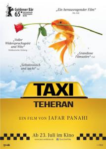 """Locandina """"Taxi teheran"""""""