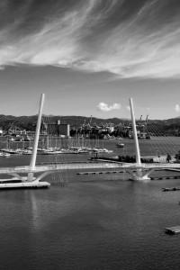 La Spezia, il ponte Thaon di Revel    (2013)    (foto Giorgio Pagano).