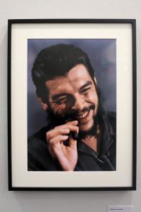 """Genova, Palazzo Ducale, mostra """"Elliott Erwitt Kolor"""", fotografia di Ernesto """"Che Guevara    (2017)    (foto Giorgio Pagano)"""