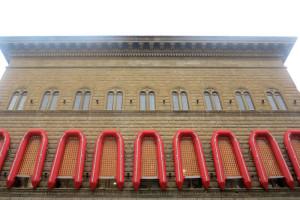 """Firenze, Palazzo Strozzi, mostra """"Libero"""" di Ai Weiwei, """"Reframe"""" (Nuova cornice) (2016) (foto Giorgio Pagano)"""