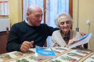 Pontremoli, Laura Seghettini e Giorgio Pagano    (2016)    (foto Giorgio Pagano)