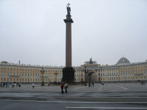 San Pietroburgo, il Palazzo d'Inverno    (2005)    (foto Giorgio Pagano)