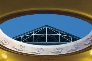 La Spezia, Teatro Civico, la cupola    (2009)    (foto Enrico Amici)