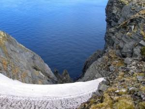 """Norvegia, Capo Nord, mostra fotografica """"I colori del mare"""", Lerici, Piazza Garibaldi, 8-10 settembre 2017, fotografia premiata insieme ad altre con il Premio Speciale del Comune di Lerici    (2007)    (foto Giorgio Pagano)"""