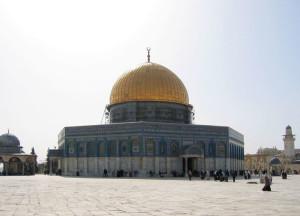 Gerusalemme, Spianata delle Moschee, El- Aqsa, la Cupola nella roccia    (2005)    (foto Giorgio Pagano)