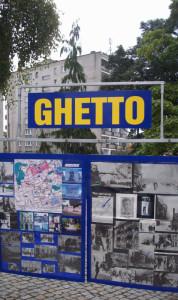 Varsavia, il Ghetto da cui 300.000 ebrei furono deportati nei lager nazisti    (2009)   (foto Giorgio Pagano)