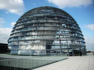 Berlino, la cupola del Reichstag    (2005)    (foto Giorgio Pagano)