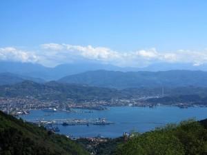 La Spezia, veduta da Campiglia  (2014)  (foto Giorgio Pagano)