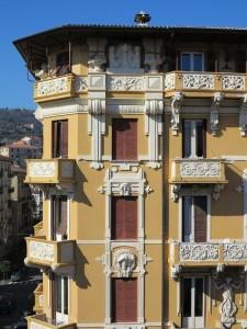 La Spezia, viale Ferrari angolo corso Cavour, Palazzo Maggiani, costruito nel 1900-1902  (2015)  (foto Giorgio Pagano)