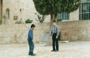 Gerusalemme, bambini ebrei    (2005)    (foto Giorgio Pagano)