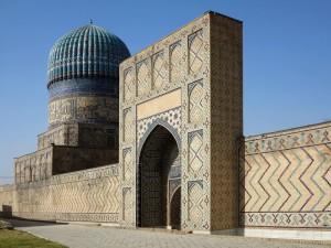 Samarcanda, la Moschea Bibi Khanum  (2017)  (foto Giorgio Pagano)