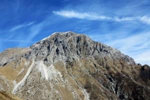 Alpi Apuane, la Pania della Croce  (2017)  (foto Giorgio Pagano).