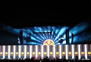 """Padova, Stadio Euganeo, concerto """"The Wall"""" di Roger Waters, 27 luglio 2013  (2013)  (foto Giorgio Pagano)"""