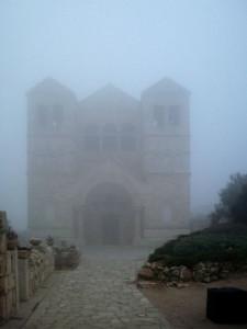 Israele, Monte Tabor: Basilica della Trasfigurazione, costruita nel luogo in cui la tradizione cristiana ambienta l'episodio della trasfigurazione di Gesù (2011) (foto Giorgio Pagano)