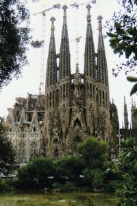 Barcellona, la Sagrada Familia di Antoni Gaudi' (2004) (foto Giorgio Pagano)