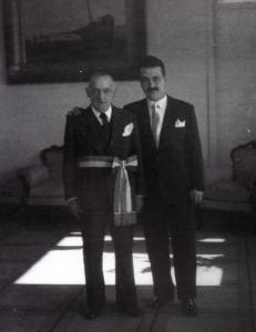 Osvaldo Prosperi e Varese Antoni, foto archivio famiglia Antoni