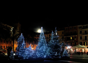 Lerici, luminarie natalizie (2017) (foto Giorgio Pagano)