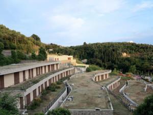 Mostra fotografica Spazi ritratti, Spazio 32, Biblioteca della Fondazione Carispezia, 14-28 settembre 2018: La vallata della Venere Azzurra  (2018)  (foto Giorgio Pagano).