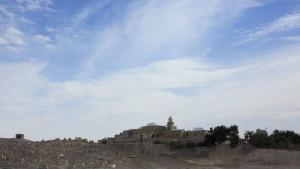 Palestina, dintorni di Gerico, monastero musulmano di Nabi Musa (2018) (foto Giorgio Pagano)