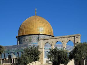 Gerusalemme, Spianata delle Moschee, la Cupola della Roccia (2018) (foto Giorgio Pagano)