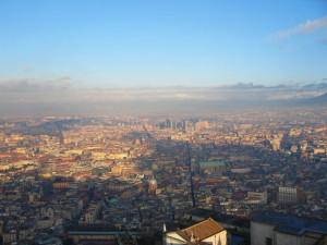 Napoli, veduta dalla Certosa di San Martino (2004) (foto Giorgio Pagano)