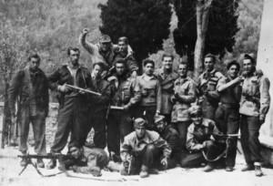 Lunigiana, partigiani della Brigata Borrini - foto archivio Luigi Leonardi