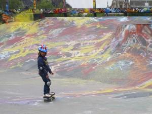 Bruxelles,skatepark Place de la Chapelle (2011) (foto Giorgio Pagano)