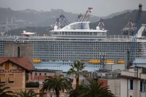 La Spezia, nave da crociera (2018) (foto Roberto Celi)