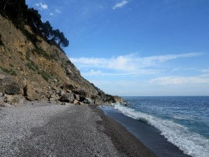 Tellaro, spiaggia della Marossa (2015) (foto Giorgio Pagano)