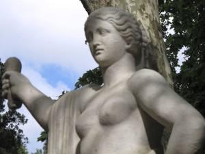 La Spezia, Giardini Storici, statua (2011) (foto Giorgio Pagano)
