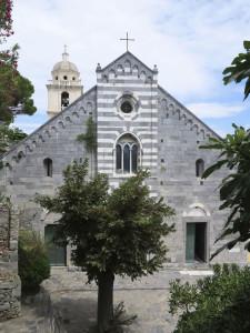 Portovenere, chiesa di San Lorenzo (2014) (foto Giorgio Pagano)