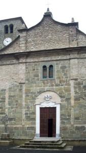 Fivizzano, Sassalbo, chiesa di San Michele Arcangelo (2007) (foto Giorgio Pagano)