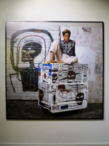 """Roma, Chiostro del Bramante, mostra """"Jean-Michel Basquiat, New York City"""" (2017) (foto Giorgio Pagano)"""