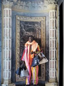 """Roma, Maxxi, mostra """"African Metropolis"""", 22 giugno-4 novembre 2018, """"Le Merchand de Venise"""" di Kiluanij Kia Henda (2018) (foto Giorgio Pagano)"""
