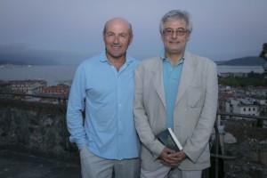 Giorgio Pagano e Bruno Arpaia, La Spezia, Castello San Giorgio (2017) (foto Enrico Amici)