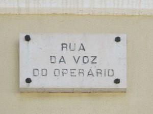 Lisbona, rua da Voz do Operario (2015) (foto Giorgio Pagano)