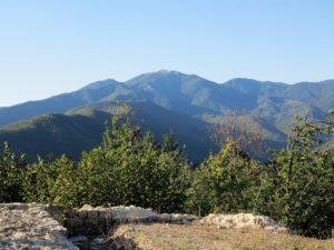 Veduta del Monte Gottero da Godano (2017) (foto Giorgio Pagano)